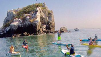 Paddle Day Trip Peñon de San Jose, Panama City