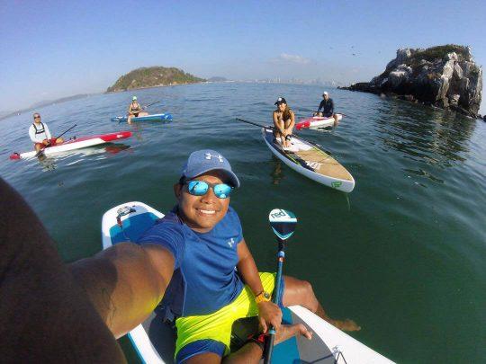 Paddle Tour Panama Peñón de San Jose