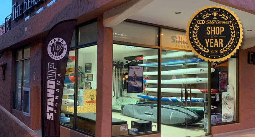Stand Up Panama SUP Store - SUP Connect Store of the Year 2019