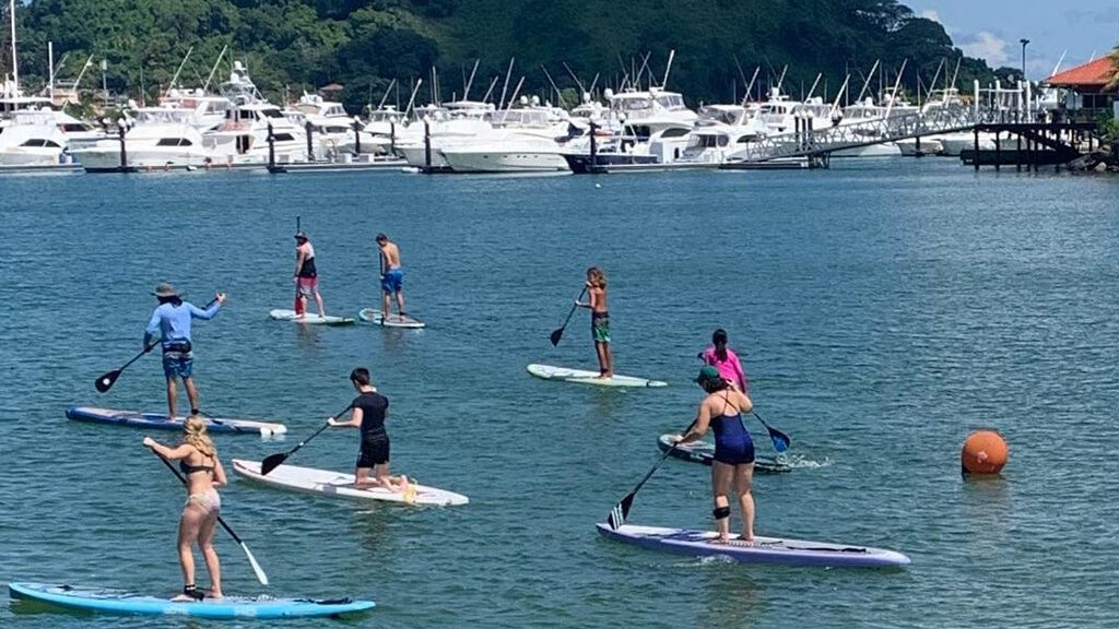 SUP Beginner Classes Panama