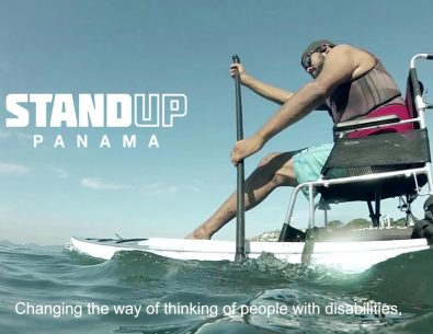 Pablo Armado Avila SUP Adaptado / Adaptive SUP en Panama