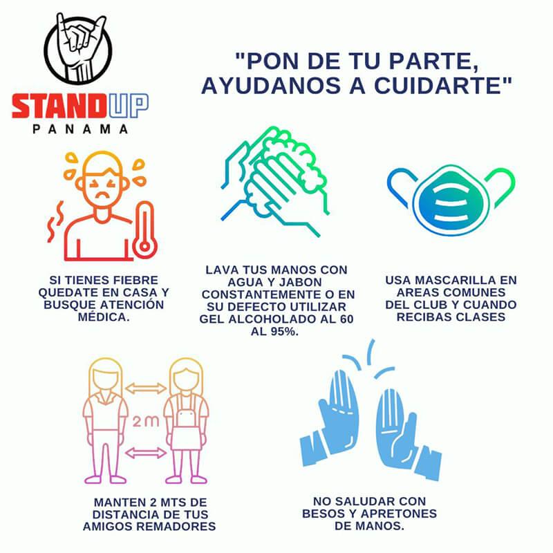 Protocolo COVID 19 StandUp Panama